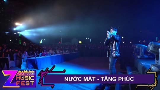 Nước mắt - Tăng Phúc [Z Countdown Music Fest 2020]