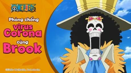 One Piece - Phòng chống Corona virus cùng Brook
