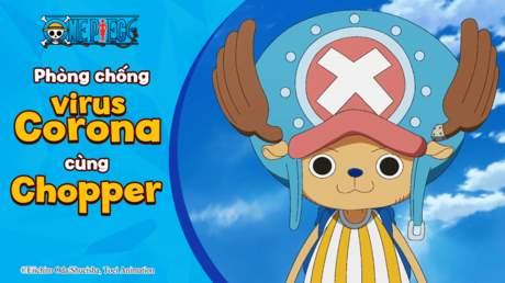 One Piece - Phòng chống Corona virus cùng Chopper