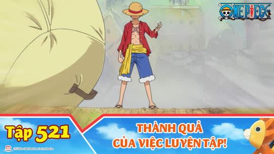 One Piece S15 - Tập 521: Thành quả của việc luyện tập!