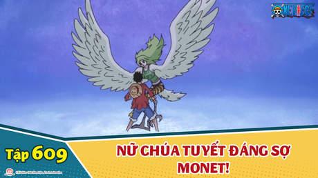 One Piece S16 - Tập 609: Luffy chết cóng!? Nữ chúa tuyết đáng sợ Monet!