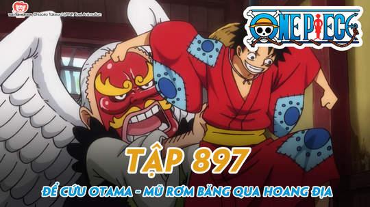 One Piece S20 - Tập 897: Để cứu Otama, Mũ Rơm băng qua hoang địa