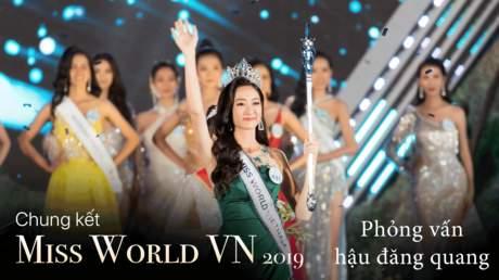 Miss World Vietnam 2019: Phần thi ứng xử của top 5