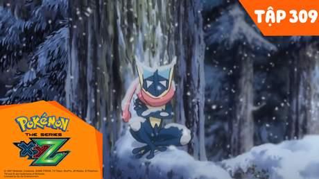 Pokémon S19 - Tập 309: Lạc lối trong rừng rậm... Tiến hóa lúc bình minh!