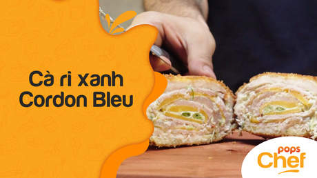 POPS Chef - Trailer tập 1: Cà ri xanh Cordon Bleu