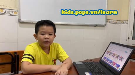 POPS Kids Learn - Các khóa học online hiệu quả tại nhà cho trẻ