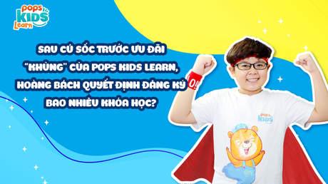 POPS Kids Learn - Các khóa học tương tác với thầy cô
