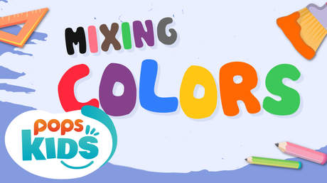 POPS Kids Lesson - Mixing colors