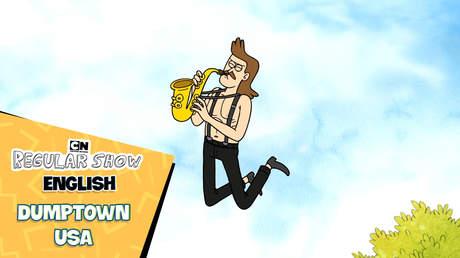 Regular Show English - Ep 29: Dumptown USA