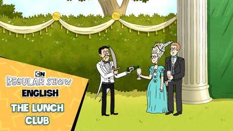 Regular Show English - Ep 31: The lunch club