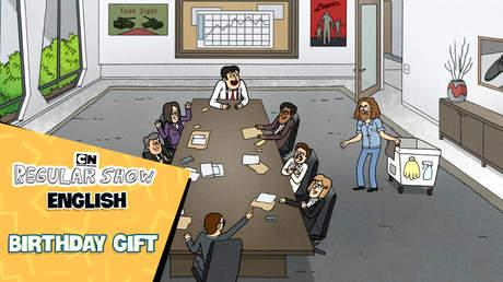 Regular Show English - Ep 34: Birthday gift