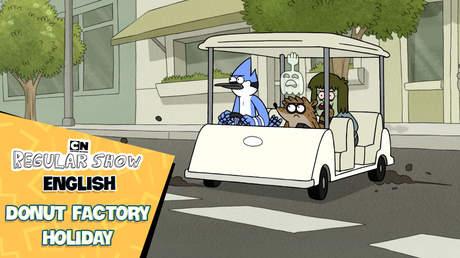 Regular Show English - Ep 46: Donut factory holiday