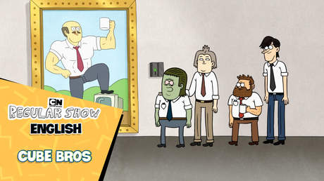 Regular Show English - Ep 52: Cube bros