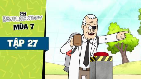 Regular Show S7 - Tập 27: Cái nút