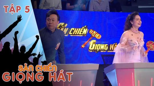 Sàn chiến giọng hát - Tập 5: Nhật Kim Anh sợ hãi khi đối đầu Kim Tử Long