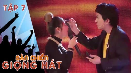 Sàn chiến giọng hát - Tập 7: Kim Tử Long 'trang điểm' cho thí sinh trên sân khấu