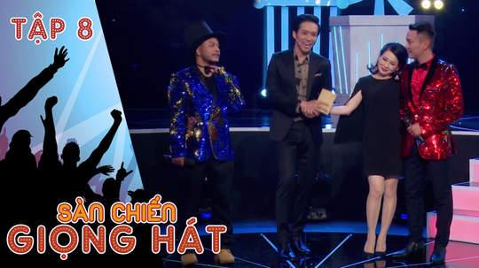 Sàn chiến giọng hát - Tập 8: Phát sốt trước nhan sắc của nghệ sĩ Hoàng Trinh
