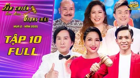 Sàn chiến giọng hát Mùa 2 - Tập 10: Kim Tử Long quyết chiến tới cùng