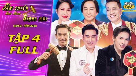 Sàn chiến giọng hát – Tập 4: Kim Tử Long bị ban đấu giá 'hội đồng'