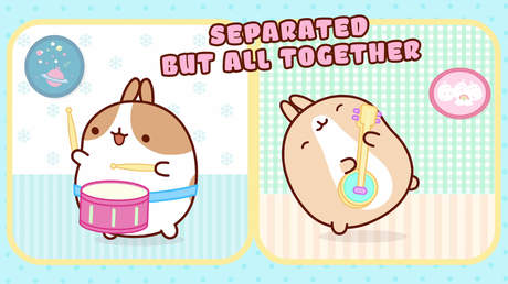 Molang - Separated but all together