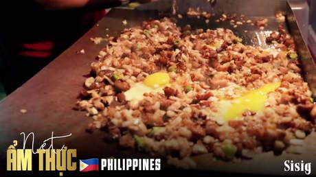 Nét ẩm thực Philippines: Sisig