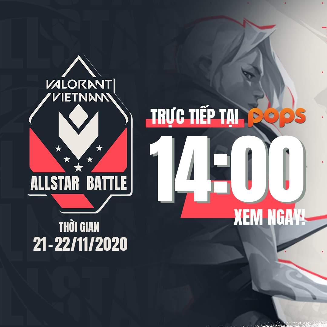 Giải đấu Valorant Allstar Battle - Ngày 2