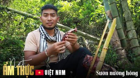 Nét ẩm thực Việt: Sườn nướng hồng