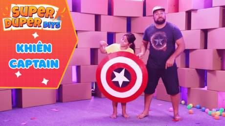 Super Duper DIY - Tập 1: Khiên Captain