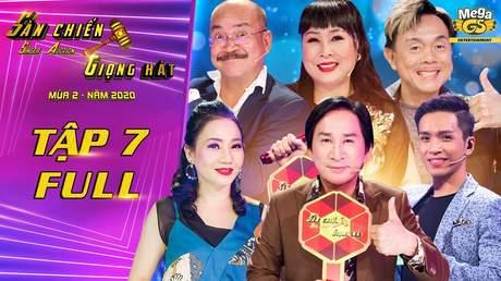 Sàn chiến giọng hát Mùa 2 – Tập 7: Hồng Vân 'đại chiến' Kim Tử Long