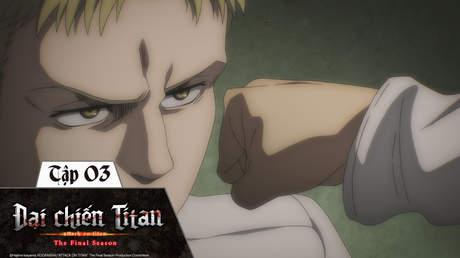Đại Chiến Titan S4 - Tập 3: Cánh cửa hy vọng
