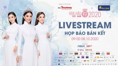 Họp Báo Hoa Hậu Việt Nam 08/10/2020