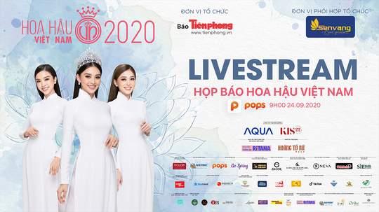 Họp Báo Hoa Hậu Việt Nam 24/09/2020