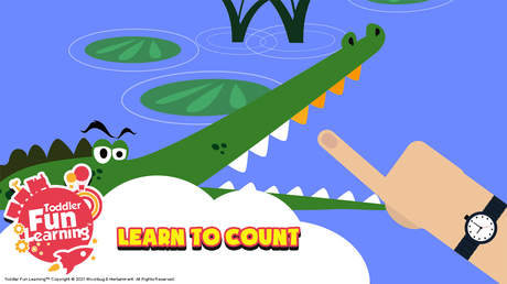 Toddler Fun Learning (English) - Count My Teeth - Ep 1: Learn to count