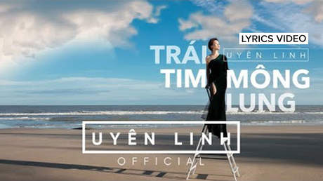 Trái tim mông lung - Uyên Linh [Lyrics Video]