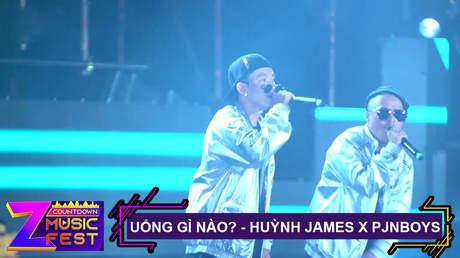 Z Countdown Music Fest 2020: Huỳnh James x Pjnboys - Uống Gì Nào?
